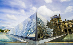 Louvre Royalty-vrije Stock Fotografie