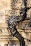 Louvre architecture elements, Paris Stock Image