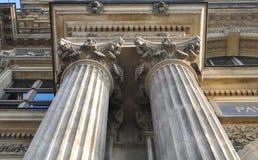 Louvre architektura Obraz Royalty Free