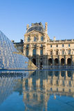 The Louvre Art Museum in Paris Royalty Free Stock Images