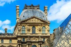 The Louvre Art Museum, Paris Stock Photo