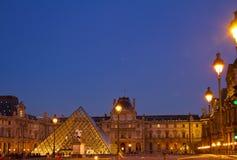 The Louvre Art Museum  in Paris Stock Images