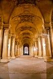 Louvre Art Museum, Paris. Royaltyfria Foton