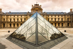The Louvre Art Museum, Paris. Stock Images