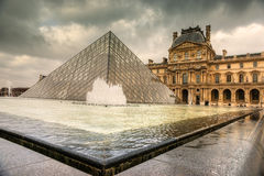The Louvre Art Museum, Paris. Stock Image
