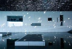 Louvre av Abu Dhabi Fotografering för Bildbyråer