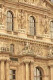Louvre building Stock Photography