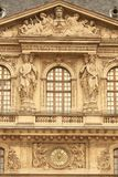 Louvre building Royalty Free Stock Photo