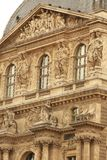 Louvre building Royalty Free Stock Photos