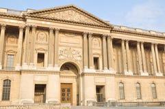 Louvre colonnade Stock Photos