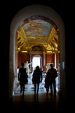 Louvre. Is consistently the most visited museum worldwide. This photo was taken on 20/06/2013 Royalty Free Stock Photo
