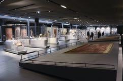 Louvre, corridoio islamico di arte Immagine Stock Libera da Diritti