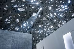 Louvre de Abu Dhabi Imagen de archivo libre de regalías