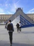 Louvre de Le Musee du Imagens de Stock Royalty Free