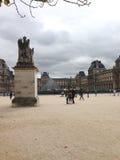 Louvre de musée Photographie stock libre de droits