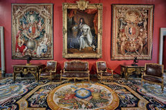 Louvre de musée, Paris Photos libres de droits