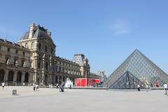 Louvre de París Foto de archivo libre de regalías