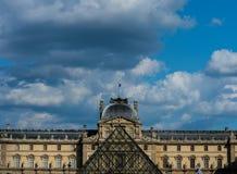 Louvre de Paris de Frances Photo libre de droits