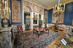 Louvre del museo, París Imagenes de archivo