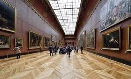 Louvre del museo, París Fotos de archivo