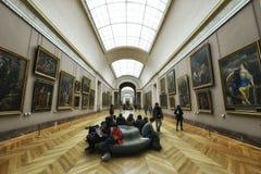 Louvre del museo, París Fotografía de archivo libre de regalías