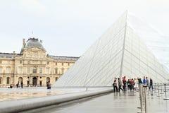Louvre del palacio Imágenes de archivo libres de regalías