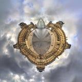 Louvre del planeta Imagenes de archivo