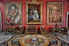 Louvre do museu, Paris fotos de stock royalty free