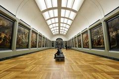Louvre do museu, Paris Imagens de Stock