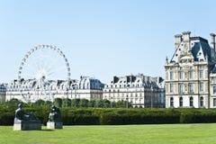 Louvre en París. Foto de archivo