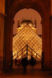 Louvre Entrance tunnel Royalty Free Stock Photography