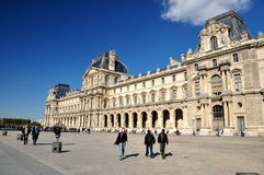 The Louvre exterior Stock Image