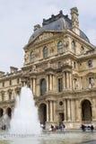 Louvre - facade Stock Photos