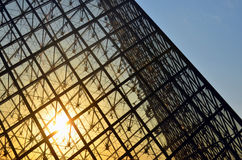 The Louvre, France. The Louvre or the Louvre Museum (French: Musée du Louvre, pronounced: [myze dy luvʁ]) is one of the world's largest museums and a historic Stock Image