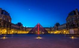 Louvre Frankreichs Paris Lizenzfreie Stockfotos