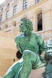 Louvre-Frans en Italiaans Beeldhouwwerk Royalty-vrije Stock Afbeeldingen