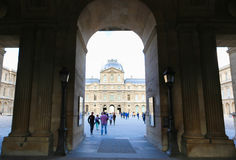 Louvre Gate Stock Image