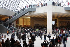 Louvre - Interior Stock Image