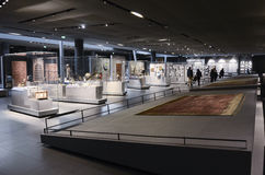 Louvre, Islamic art hall Royalty Free Stock Image
