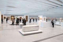 Louvre Lens exposition Stock Photo