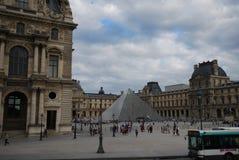Louvre, The Louvre, Arc de Triomphe du Carrousel, sky, landmark, town square, town Royalty Free Stock Photography