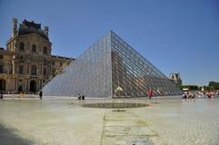 Louvre mureum in Paris, France. Shot of the Louvre museum in Paris, France Stock Images