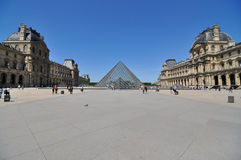 Louvre mureum in Paris, France Royalty Free Stock Photography