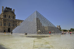 Louvre mureum in Paris, France. Shot of the Louvre museum in Paris, France Stock Photography
