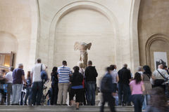 Louvre musee nike samotracia Royalty Free Stock Photos
