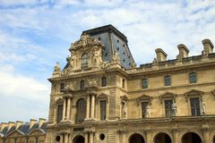 The Louvre Museum Royalty Free Stock Photos