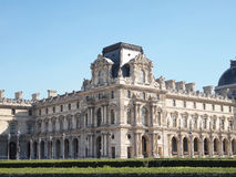The Louvre museum. Is a famous art gallery in Paris, France Stock Images
