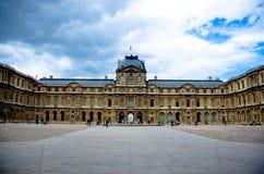 Louvre Museum Stock Photo