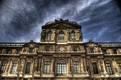 The Louvre Museum Stock Photography