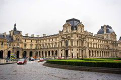 The Louvre Museum. The Louvre is today the Palace of Arts and holds one of the richest museums in the world. you can be here tring to interpret the enigmatic Royalty Free Stock Image